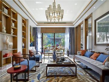 上海庄园别墅项目装修现代风格