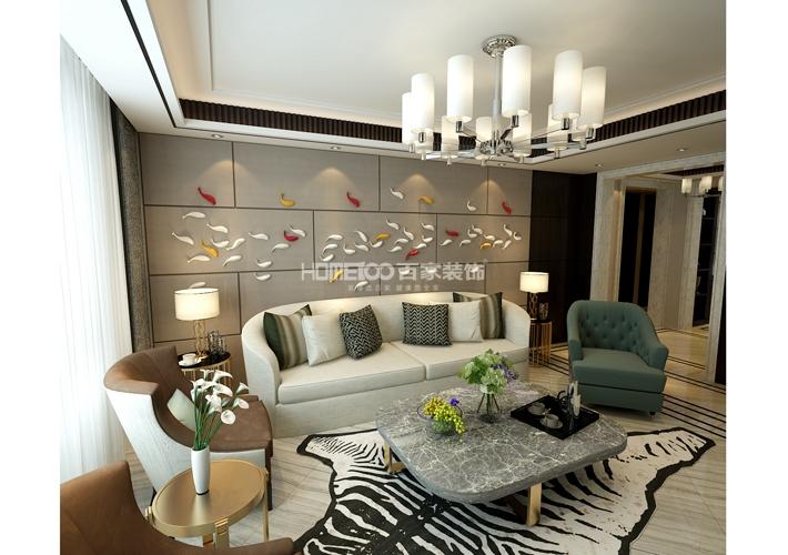 新世界 195 客厅图片来自百家装饰LL在新世界 195的分享