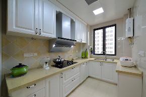美式 三居 大户型 跃层 复式 白领 80后 小资 厨房图片来自高度国际姚吉智在156平米美式家居的浪漫生活的分享