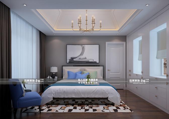卧室图片来自沈阳百家装饰小姜在百家装饰-碧桂园凤凰城220平别墅的分享