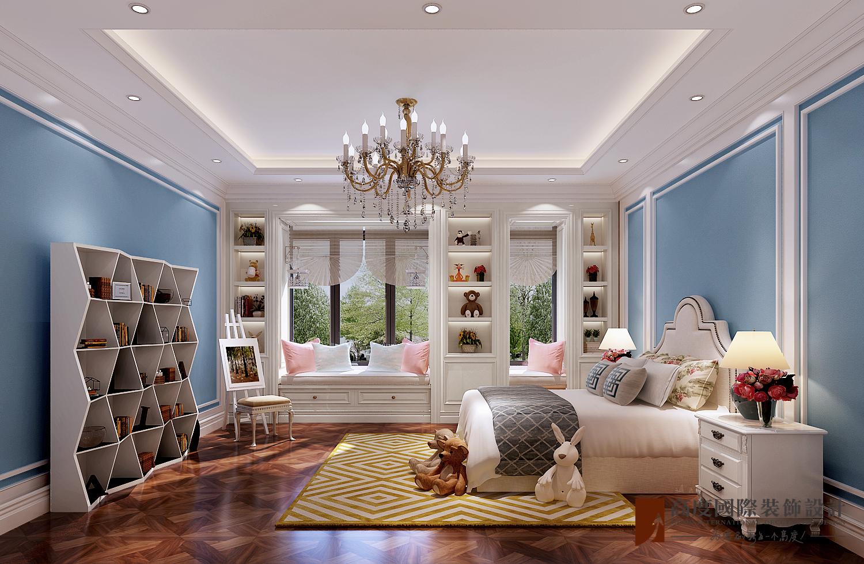美式 别墅 跃层 复式 大户型 80后 小资 儿童房图片来自高度国际姚吉智在金地中央世家600平米简美风格的分享