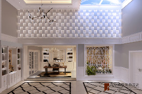 美式 别墅 跃层 复式 大户型 80后 小资 其他图片来自高度国际姚吉智在金地中央世家600平米简美风格的分享