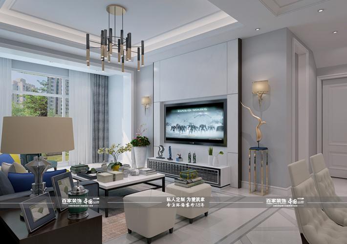 客厅图片来自沈阳百家装饰小姜在百家装饰-碧桂园凤凰城220平别墅的分享