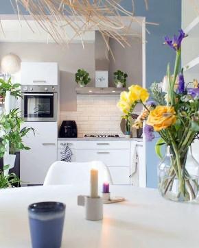北欧 青岛 装修 清新 旧房改造 小资 80后 餐厅图片来自快乐彩在欧倾听内心的静谧85平老房改造的分享