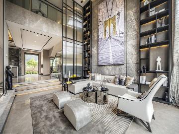 华侨城十号院别墅现代风格设计