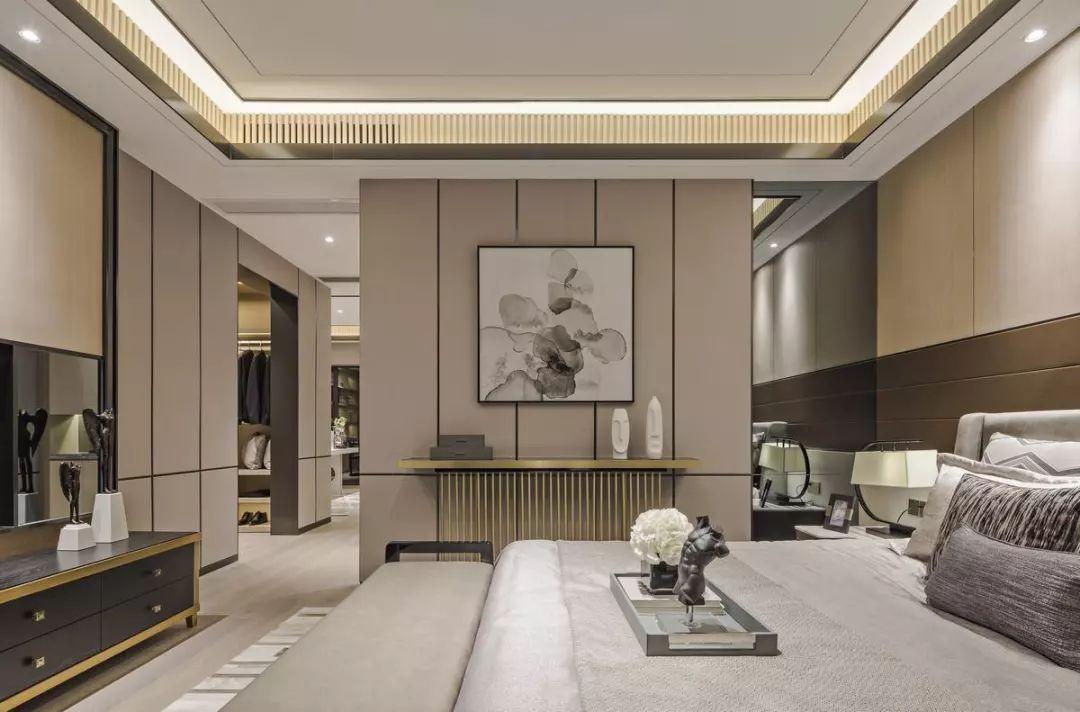 华侨城十号 十号院 别墅装修 现代风格 卧室图片来自孔继民在华侨城十号院别墅现代风格设计的分享