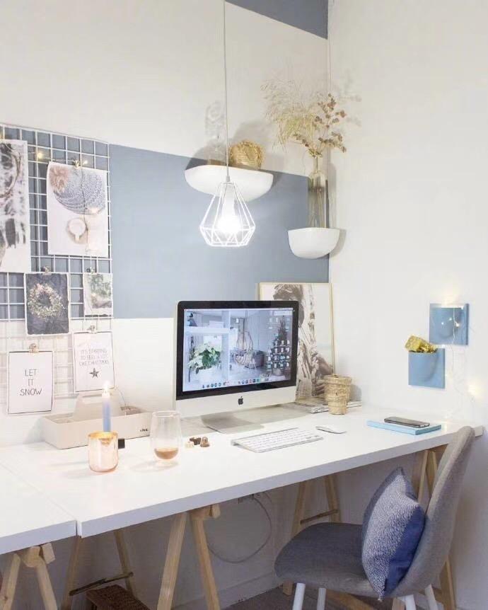 北欧 青岛 装修 清新 旧房改造 小资 80后 书房图片来自快乐彩在欧倾听内心的静谧85平老房改造的分享