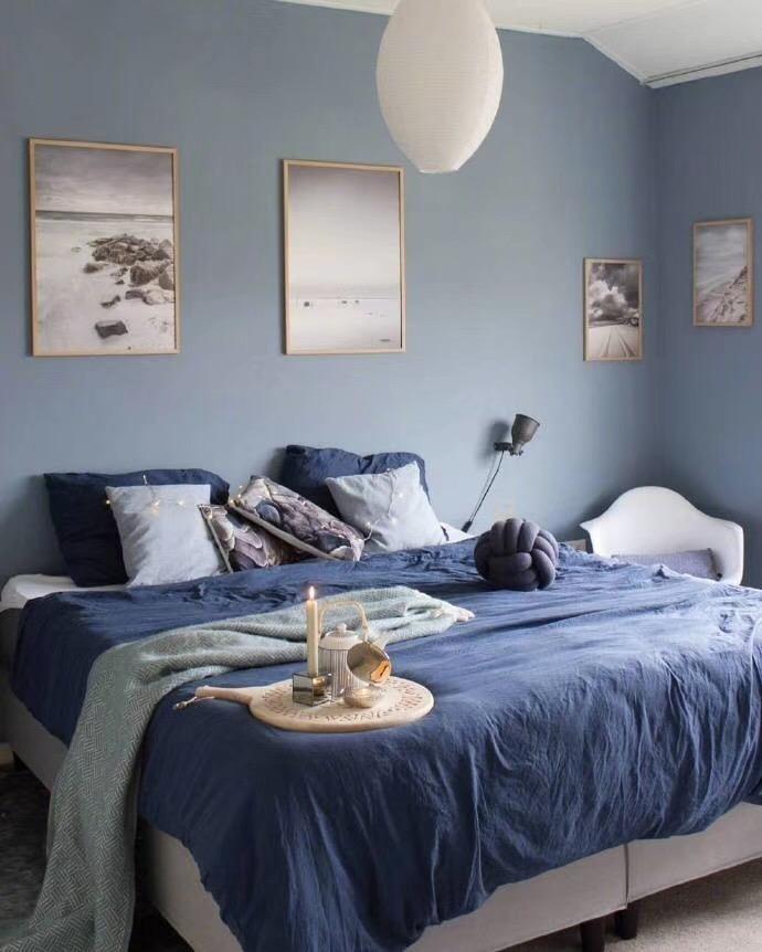 北欧 青岛 装修 清新 旧房改造 小资 80后 卧室图片来自快乐彩在欧倾听内心的静谧85平老房改造的分享