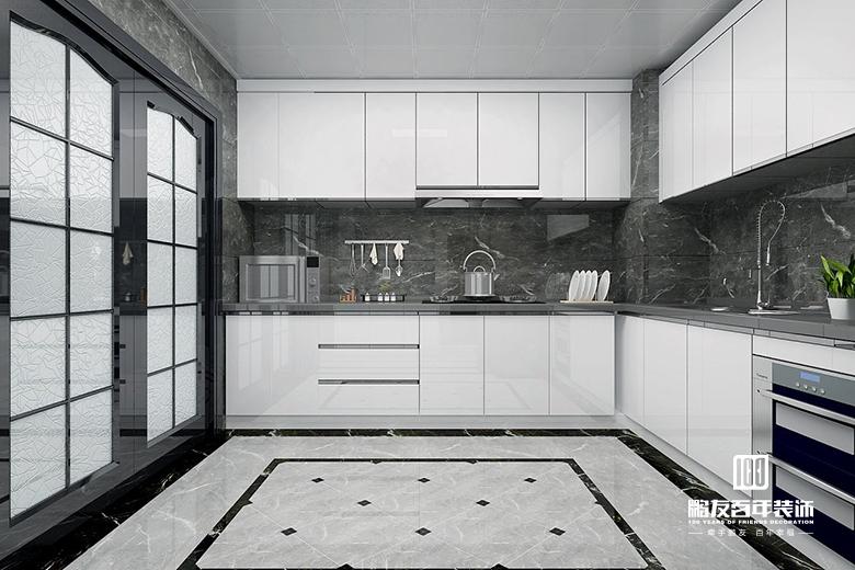 厨房 厨房图片来自鹏友百年装饰在设计自家的精致新中式的分享