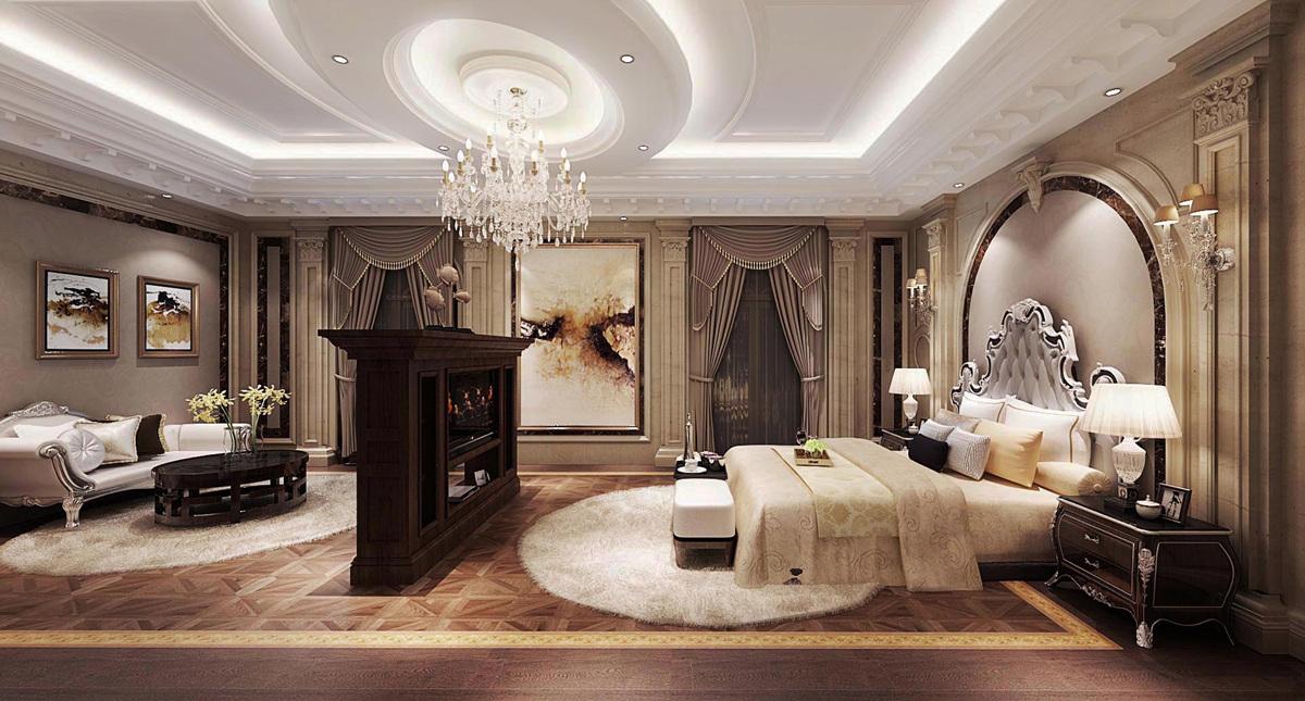 圣安德鲁斯 庄园别墅 法式古典 腾龙设计 卧室图片来自孔继民在圣安德鲁斯庄园别墅法式风格设计的分享