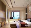 在卧室设计上,不拘泥于传统的中式元素, 而是在继承古典的基础上融入现代的特色, 将两者有机地统一起来, 表达出现代人对于新的精神境界的追求。