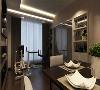 天悦东都88平三室现代风格