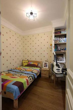 混搭 北欧 儿童房图片来自重庆装修优家馆装饰官网在89㎡北欧混搭,实用与时尚的结合的分享