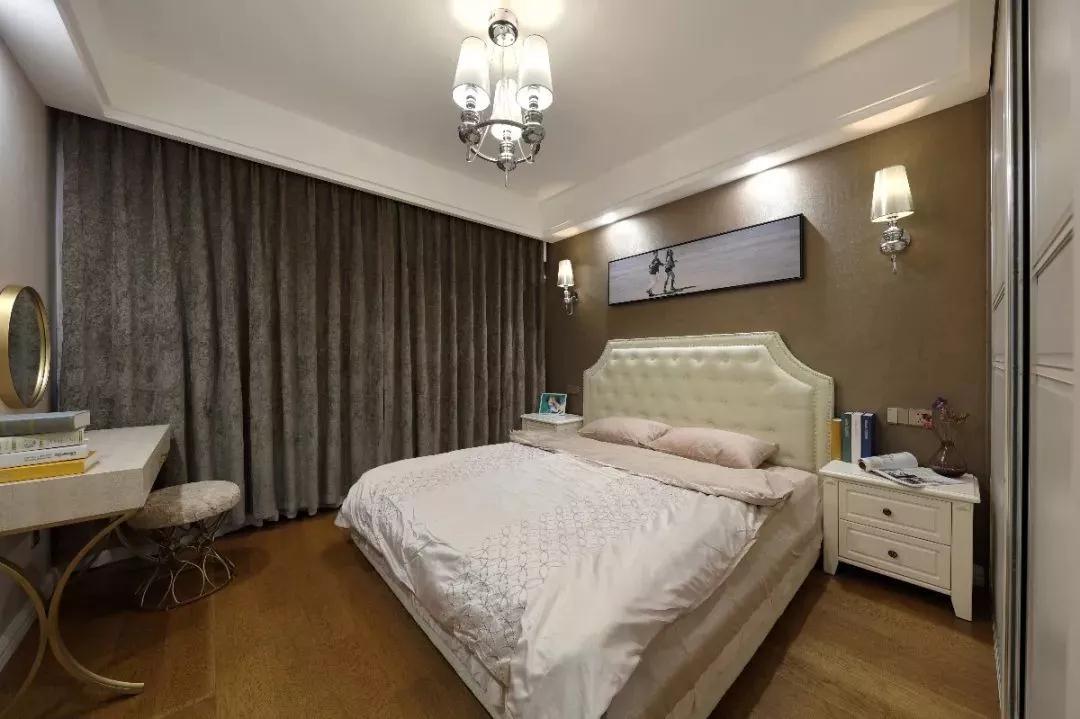 混搭 北欧 卧室图片来自重庆装修优家馆装饰官网在89㎡北欧混搭,实用与时尚的结合的分享