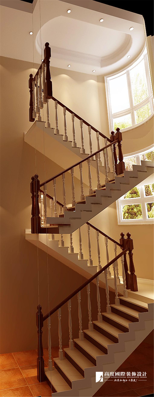 楼梯图片来自北京高度国际在彼岸香醍--托斯卡纳风格的分享