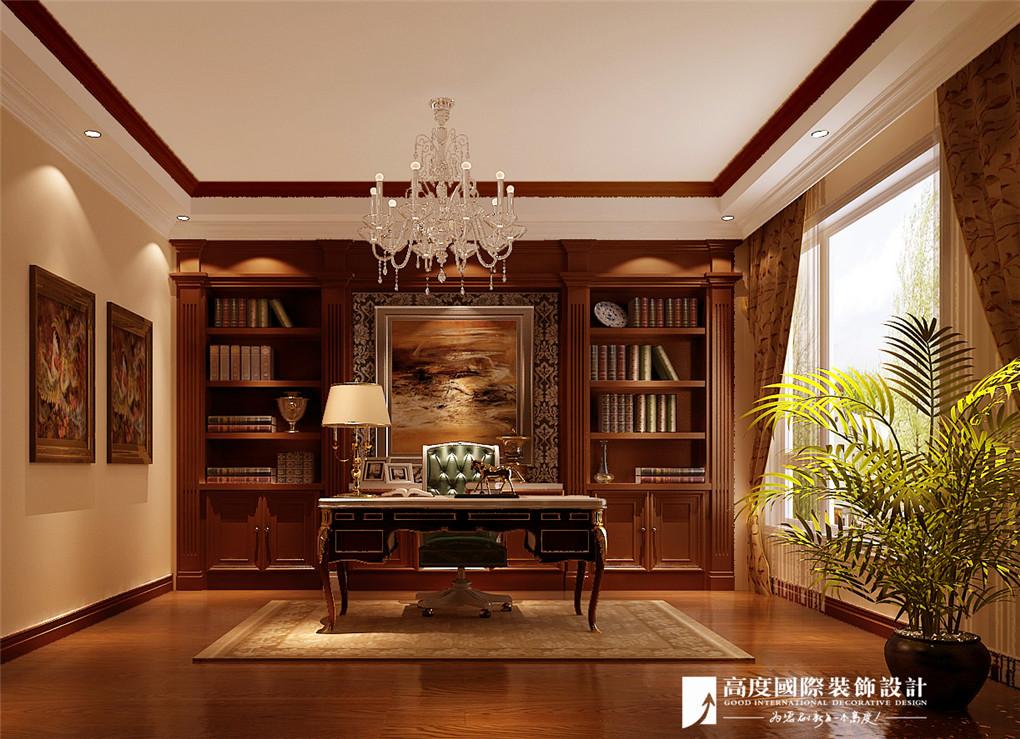 书房图片来自北京高度国际在彼岸香醍--托斯卡纳风格的分享