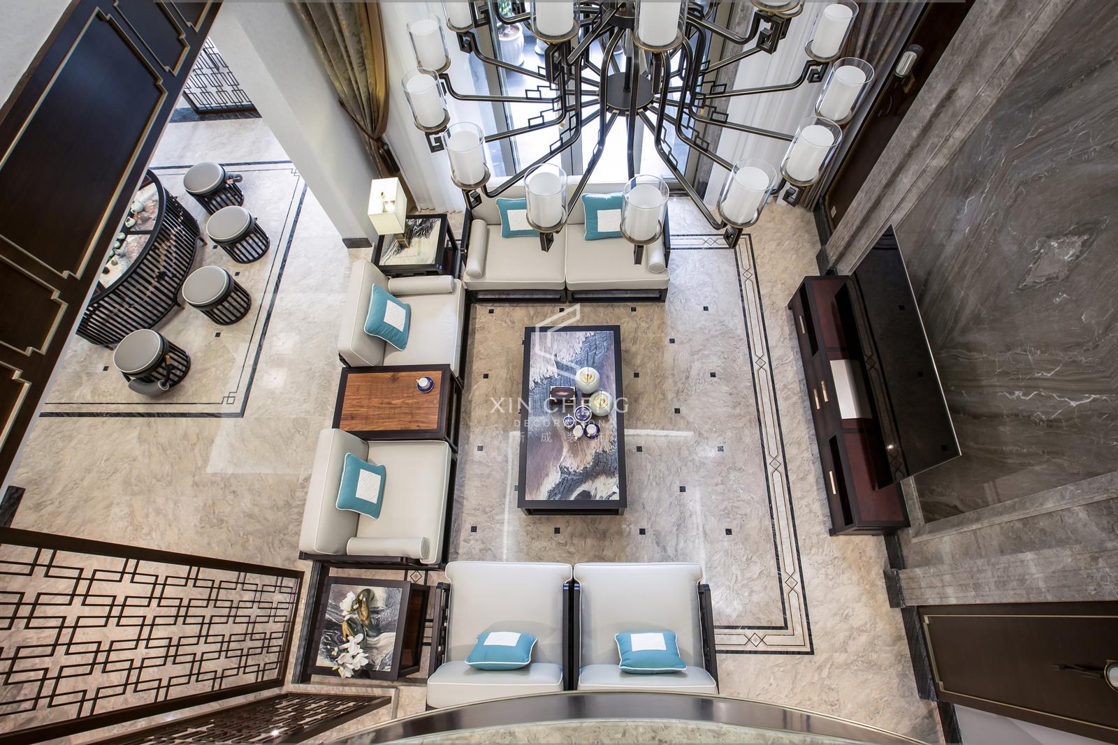 客厅图片来自乐山新成装饰在时光的沉淀的分享