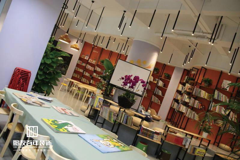 工装 鹏友百年 loft风格 书房 简约 其他图片来自鹏友百年装饰在第二书房全案定制的分享