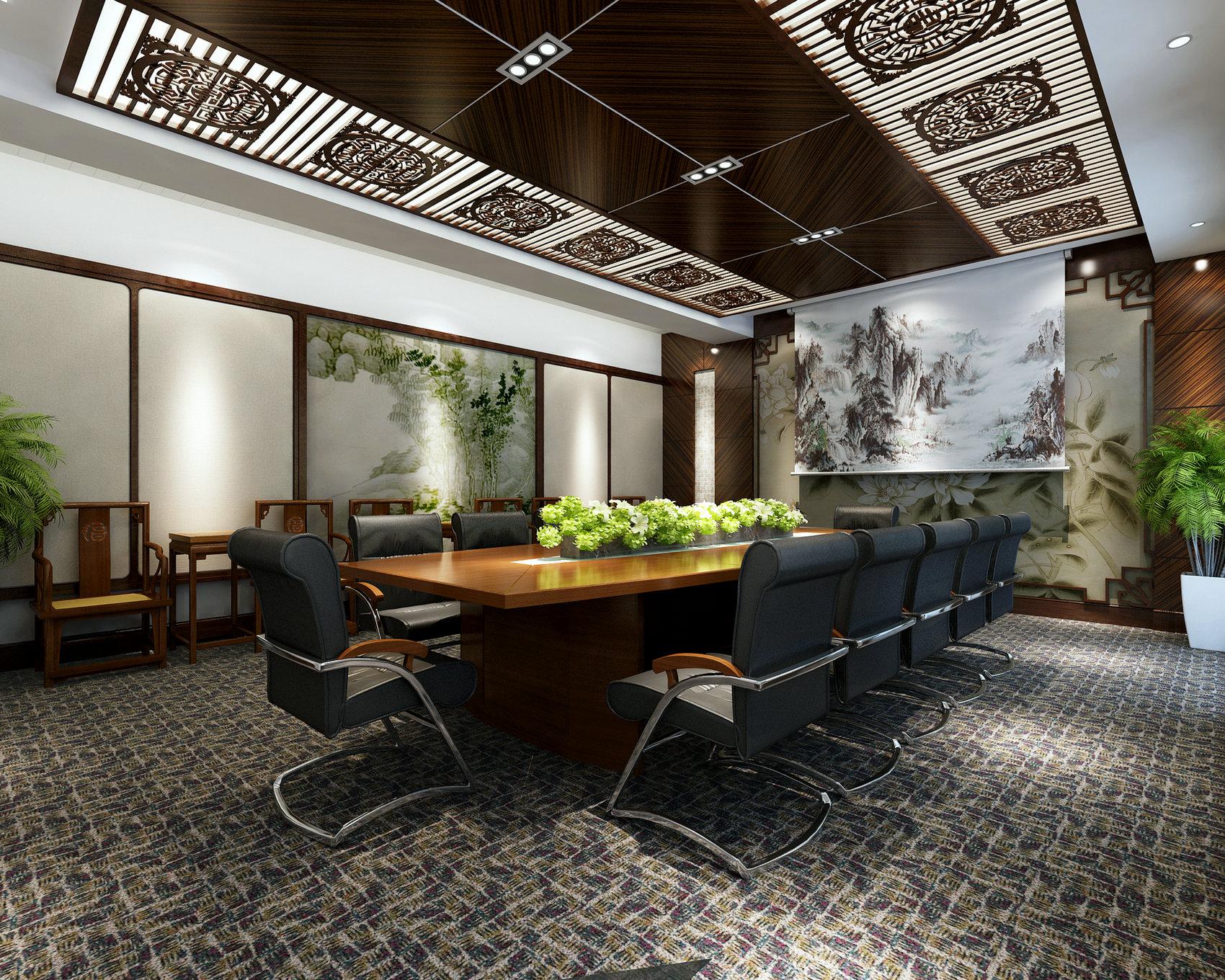 办公空间 现代风格 腾龙设计 书房图片来自孔继民在办公空间设计案例展示的分享