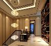 尚海郦景别墅项目装修新中式风格设计,上海腾龙别墅设计作品,欢迎品鉴