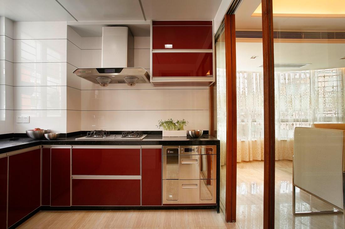 金地格林 别墅装修 嘉定别墅 别墅设计师 厨房图片来自孔继民在现代风格完工实景项目展示!的分享