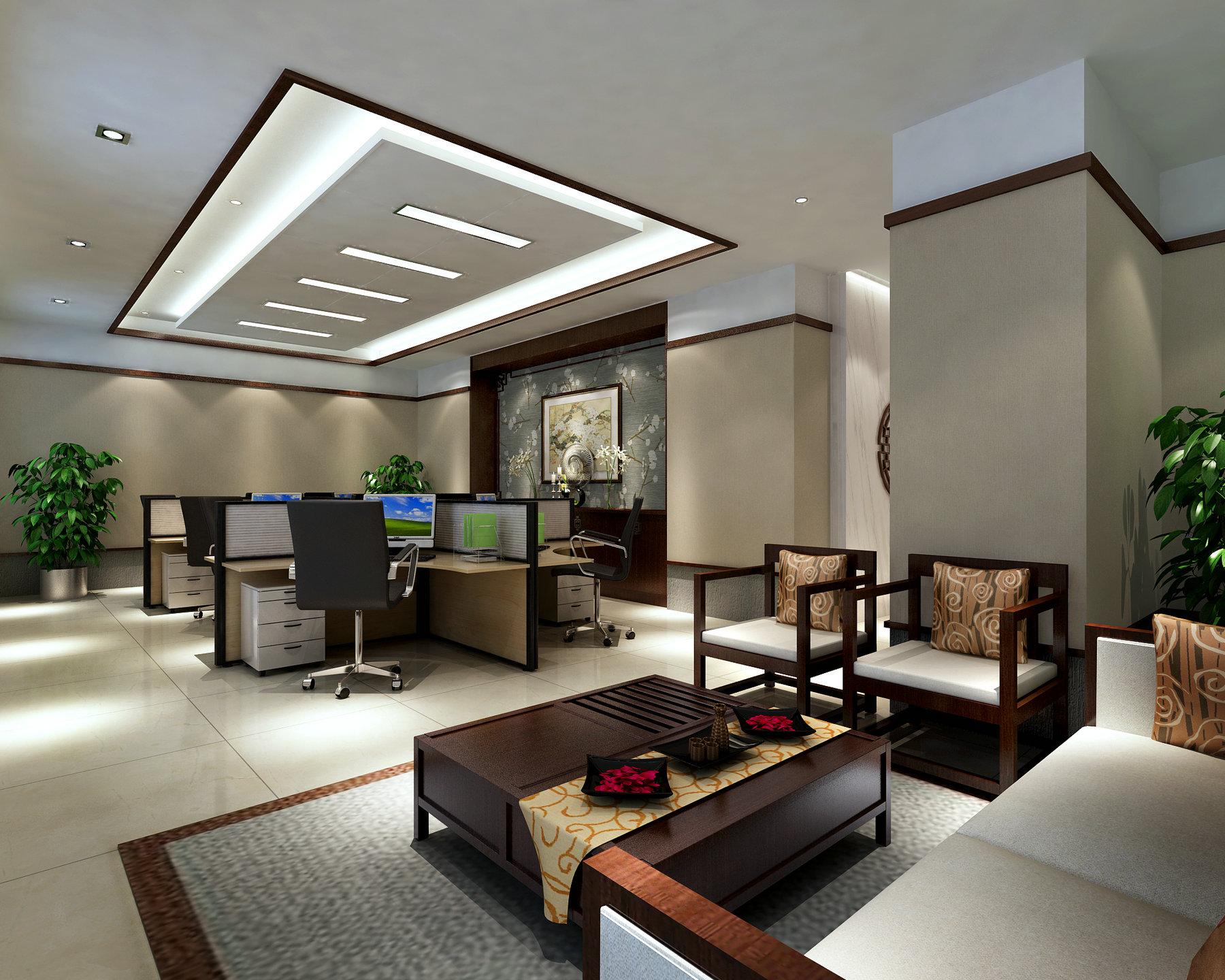 办公空间 现代风格 腾龙设计 客厅图片来自孔继民在办公空间设计案例展示的分享