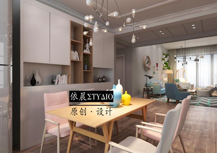 客厅图片来自沈阳百家装饰小姜在百家装饰-保利溪湖林语现代风格的分享