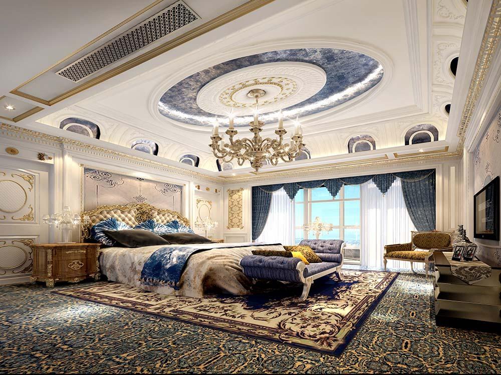金大元 别墅装修 法式风格 腾龙设计 别墅设计师 卧室图片来自孔继民在金大元别墅法式风格设计案例的分享