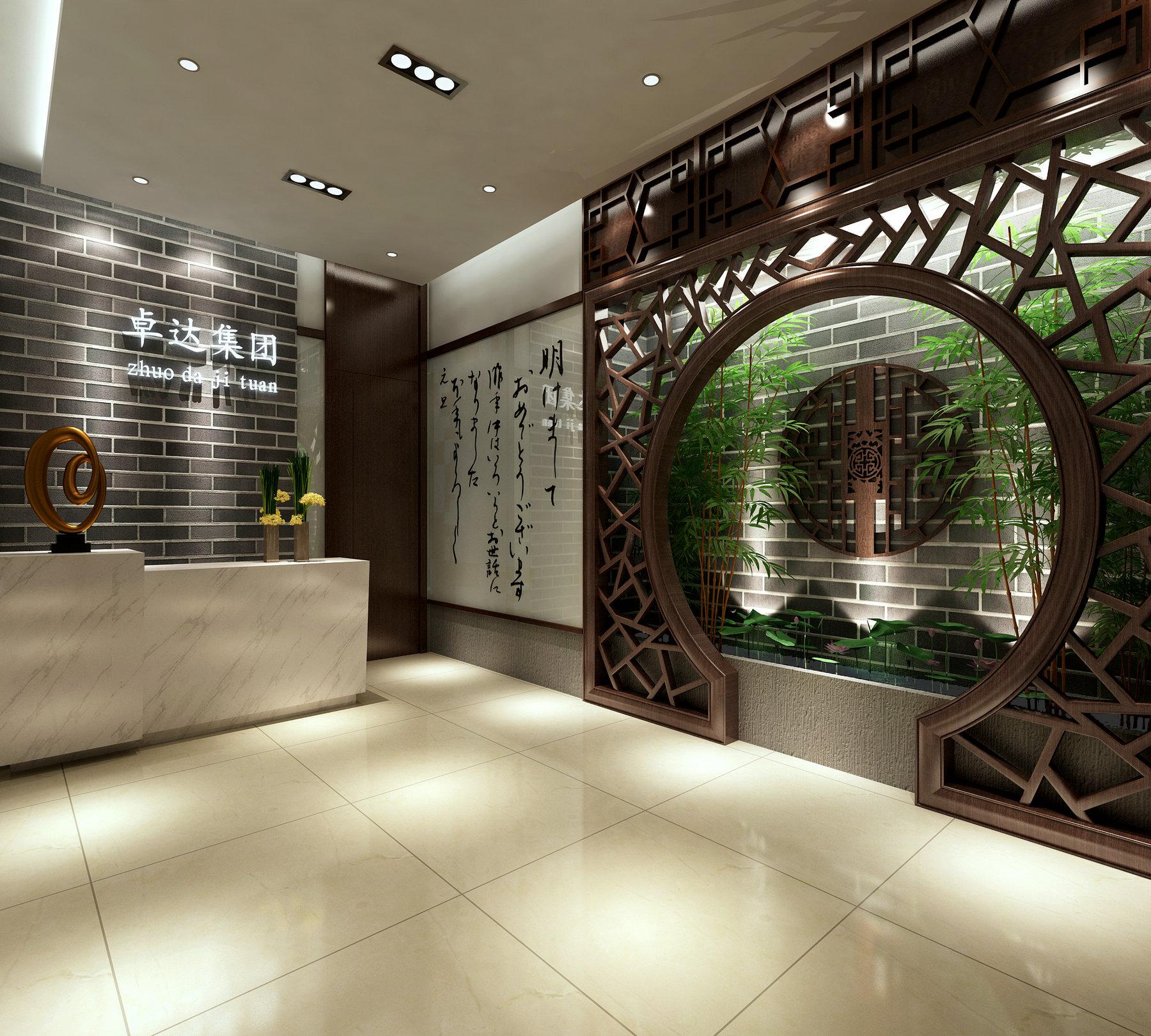 办公空间 现代风格 腾龙设计 玄关图片来自孔继民在办公空间设计案例展示的分享