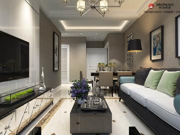 龙城壹号118平米简约风格设计