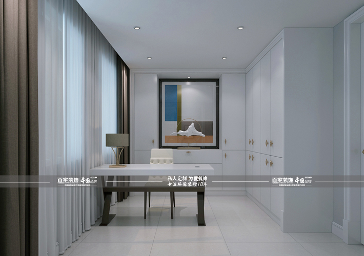别墅 凤凰城央墅 现代风格 书房图片来自百家设计小刘在碧桂园凤凰城央墅220平现代风格的分享