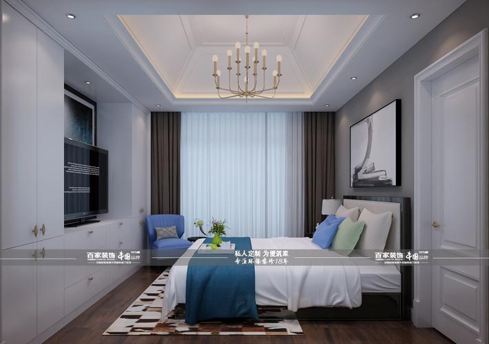 别墅 凤凰城央墅 现代风格 卧室图片来自百家设计小刘在碧桂园凤凰城央墅220平现代风格的分享