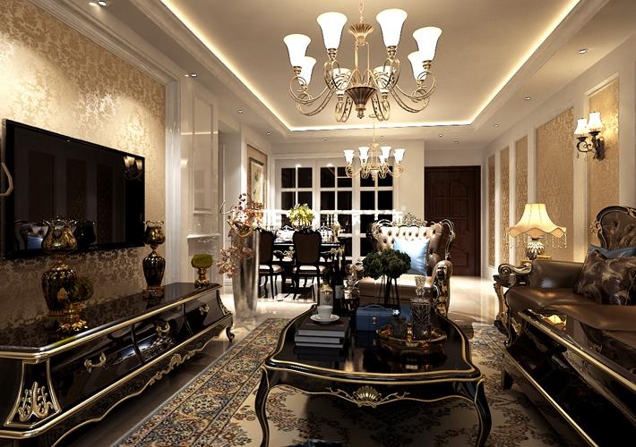 三居 广厦绿园 123 客厅图片来自百家装饰LL在广厦绿园 123的分享