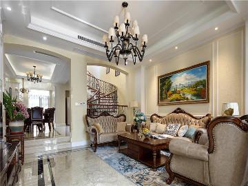 贝尚湾别墅欧美风格设计