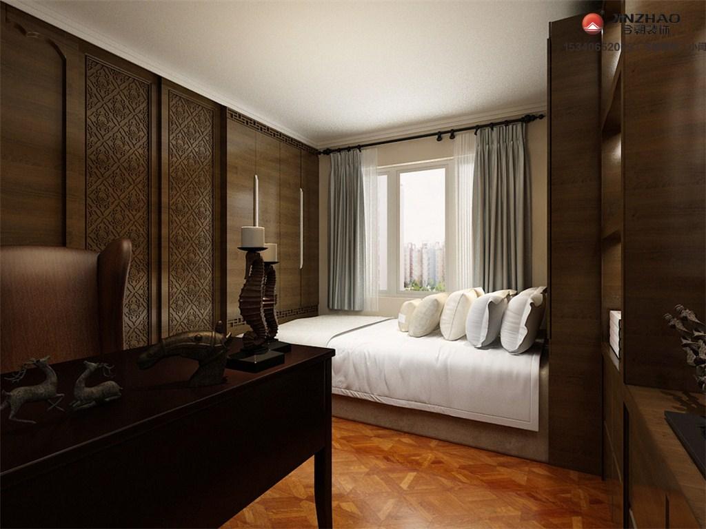 卧室图片来自装家美在阳光揽胜100平米设计图的分享