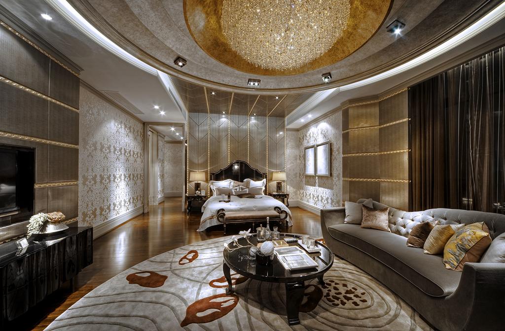 黄浦滩名苑 装修设计 欧式古典 豪宅设计师 餐厅图片来自孔继民在黄浦滩名苑四房户型设计案例的分享