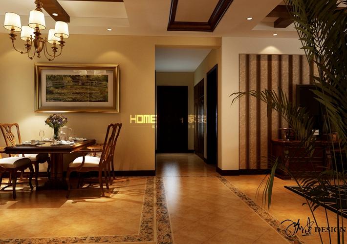 三居 中海和平之 140平美 客厅图片来自百家装饰LL在中海和平之门 140平美的分享