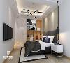 卧房温和富有层次的吊灯、射灯、台灯 均给予人极致放松的 舒适感