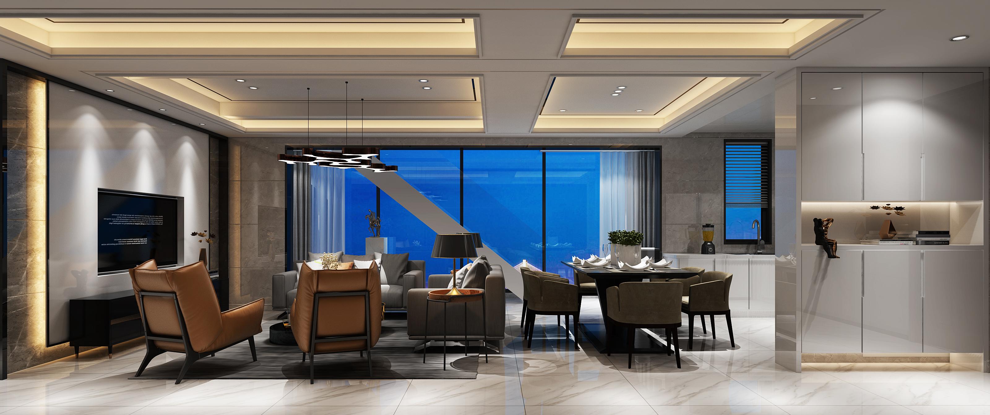 简约 三居 80后 小资 白领 客厅图片来自唐锋设计在长乐江山大名城的分享