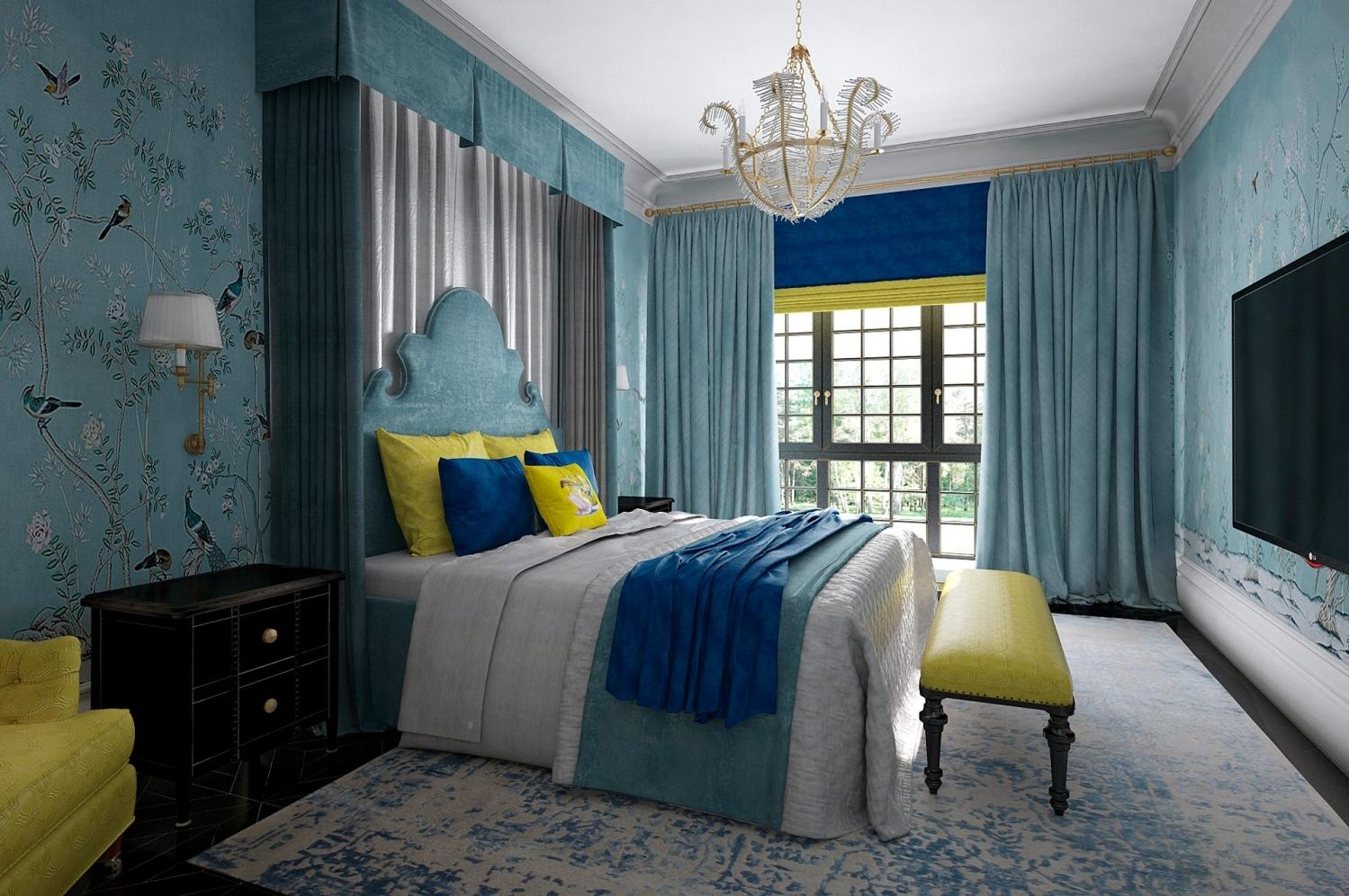 英庭名墅 别墅装修 欧美风格 腾龙设计 卧室图片来自孔继民在英庭名墅别墅完工实景展示的分享