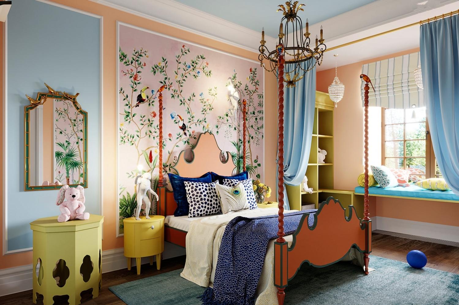 英庭名墅 别墅装修 欧美风格 腾龙设计 卧室图片来自孔继民在【精品】英庭名墅别墅完工实景的分享