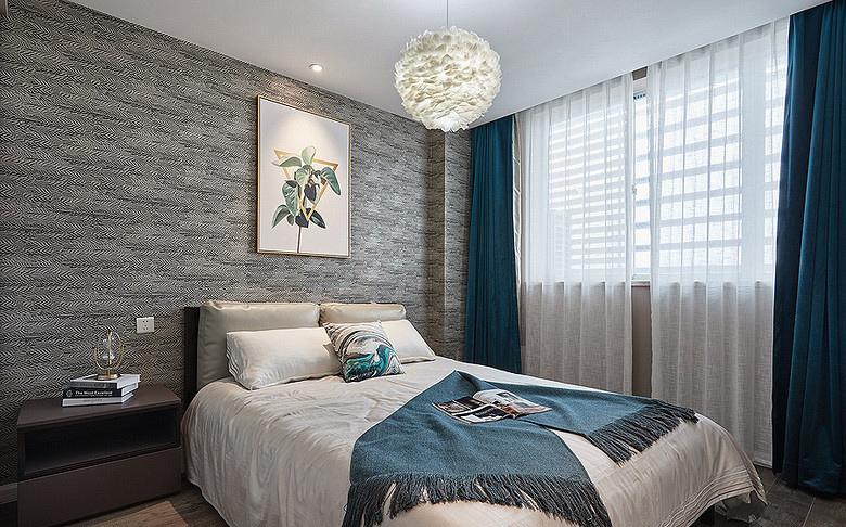 卧室图片来自家装大管家在92平现代简约居 心旷神怡舒适感的分享