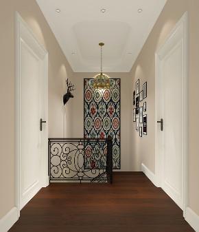 别墅 白领 收纳 80后 小资 美式 经典 楼梯图片来自林上淮·圣奇凯尚装饰在经典美式别墅·上城郡林上淮的分享
