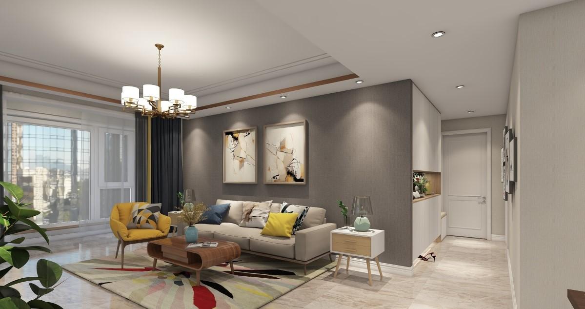 白领 80后 客厅图片来自居然设计家在现代简约的分享