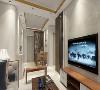 将厚重的中式精简,利用简单的中式元素来塑造客厅空间,使其充满传统风格与现代风格的韵味