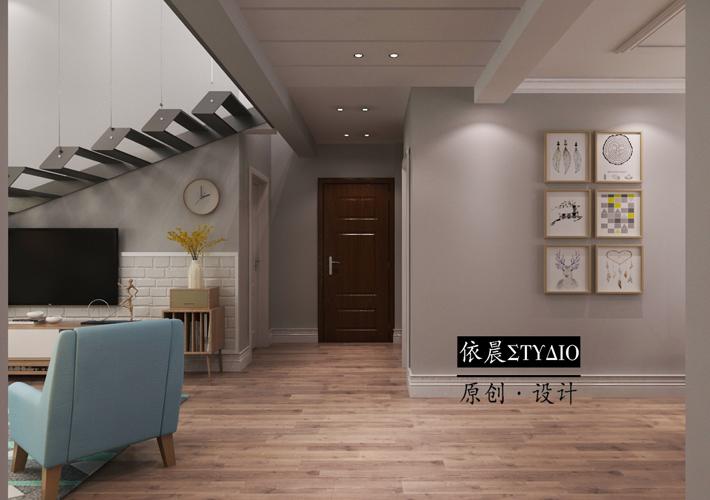二手房 老房装修 现代风格 8090 沈阳装修 客厅图片来自百家装饰--小莹在220平复式阁楼装修设计的分享