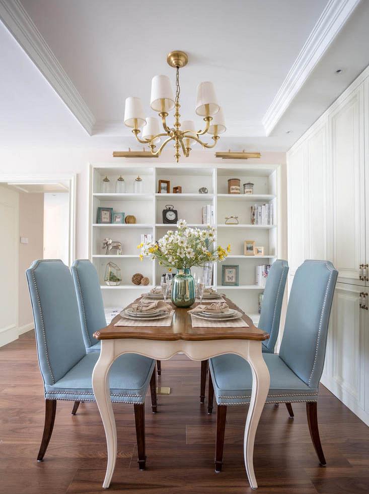 餐厅图片来自家装大管家在120平美式舒适3居 都市慢生活的分享