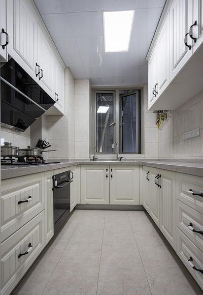 厨房图片来自家装大管家在89平现代混搭空间 年轻人的选择的分享