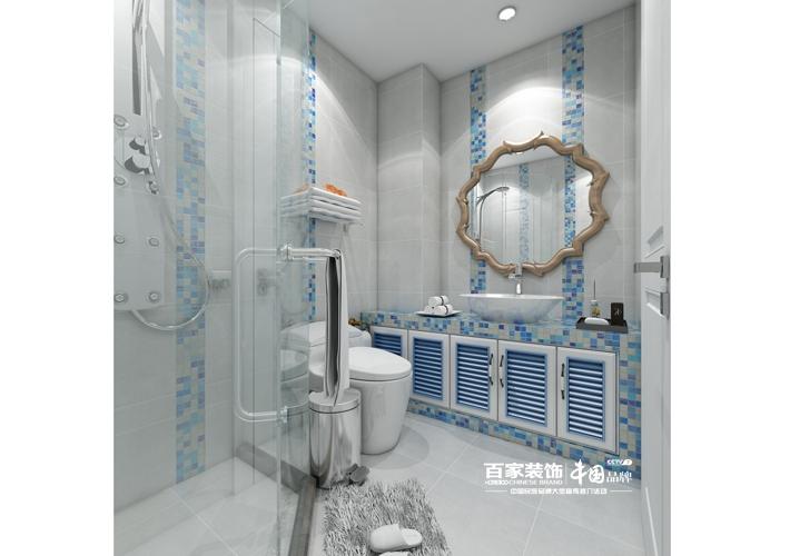 二居 中海和平之 79平 卫生间图片来自百家装饰LL在中海和平之门 79平的分享