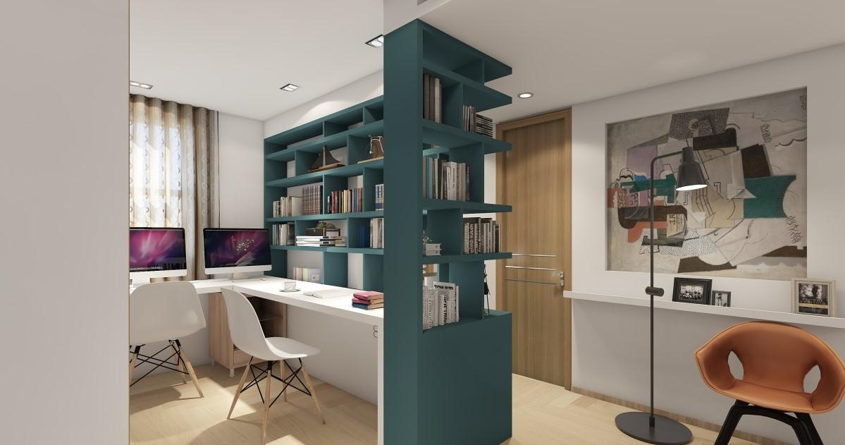混搭 二居 客厅 卧室 厨房图片来自居然设计家在青春年华的分享